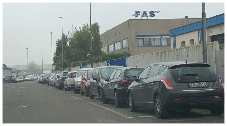 Производственная база FAS в Италии