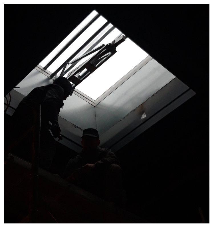 Вид фонаря дымоудаления AWAK