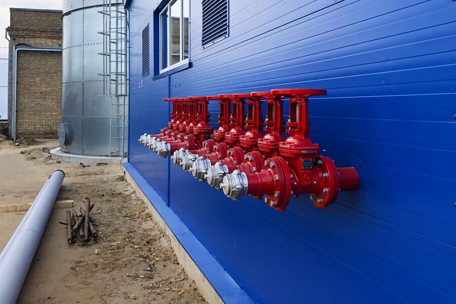 Пожарный резервуар источник водоснабжения