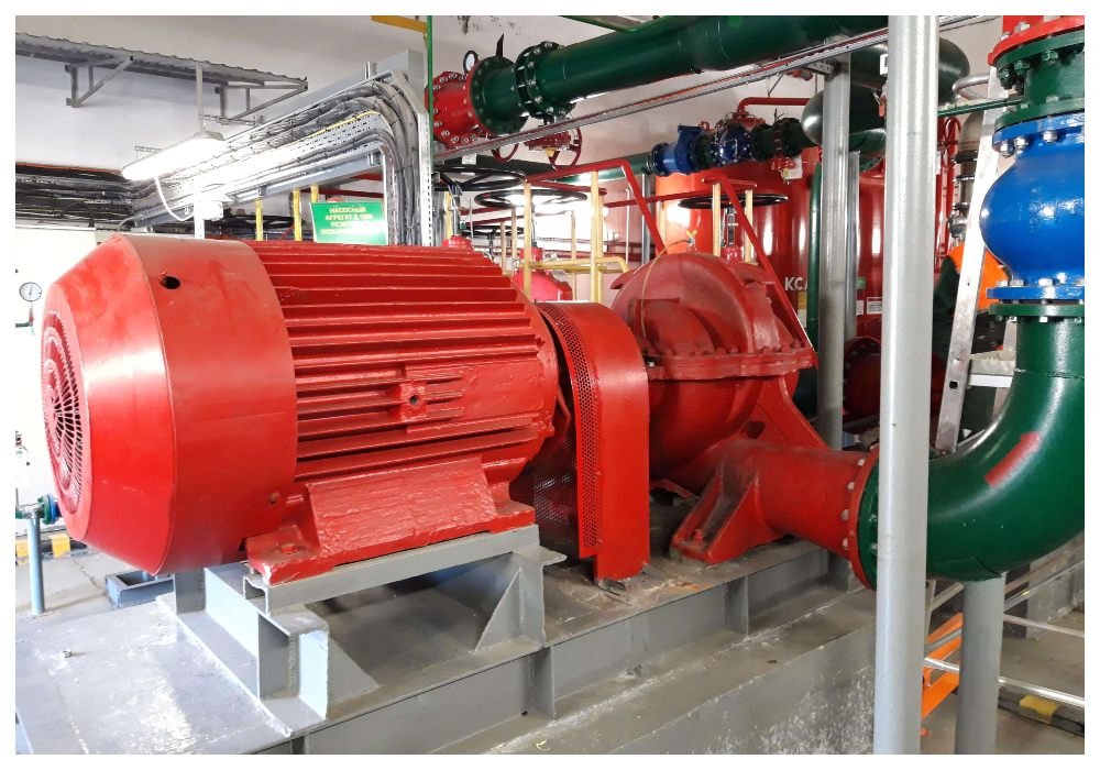 Насосный агрегат резервный